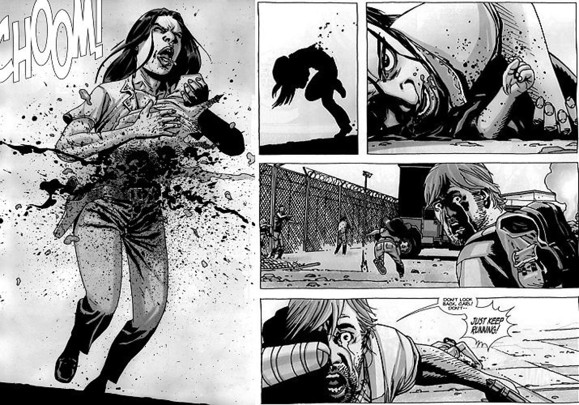 The Walking Dead: diferencias entre la serie y el cómic ...